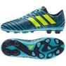 Buty piłkarskie adidas Nemeziz 17.4 niebieskie