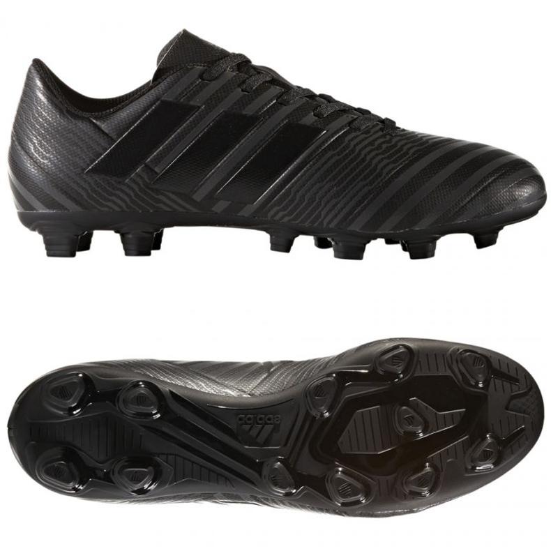 Buty piłkarskie adidas Nemeziz 17.4 czarne