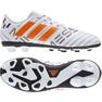Buty piłkarskie adidas Nemeziz Messi 17.4 FxG Jr S77200 białe