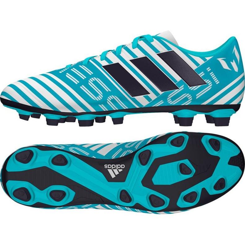 Buty piłkarskie adidas Nemeziz Messi 17.4 niebieskie