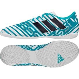 Buty halowe adidas Nemeziz Messi 17.4 niebieskie