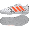 Buty piłkarskie adidas Nemeziz Messi 17.4 TF Jr S77207 białe
