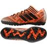 Buty piłkarskie adidas Nemeziz Tango 17.3 Tf M BY2827 pomarańczowe pomarańczowy