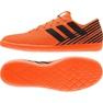Buty halowe adidas Nemeziz Tango 17.4 pomarańczowe