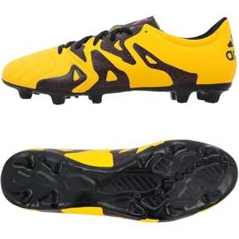 Buty piłkarskie adidas X 15.3 FG/AG pomarańczowe
