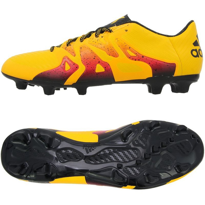 Buty piłkarskie adidas X 15.3 FG/AG M pomarańczowe
