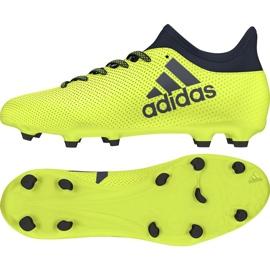 Buty piłkarskie adidas X 17.3 Fg Jr ż ó