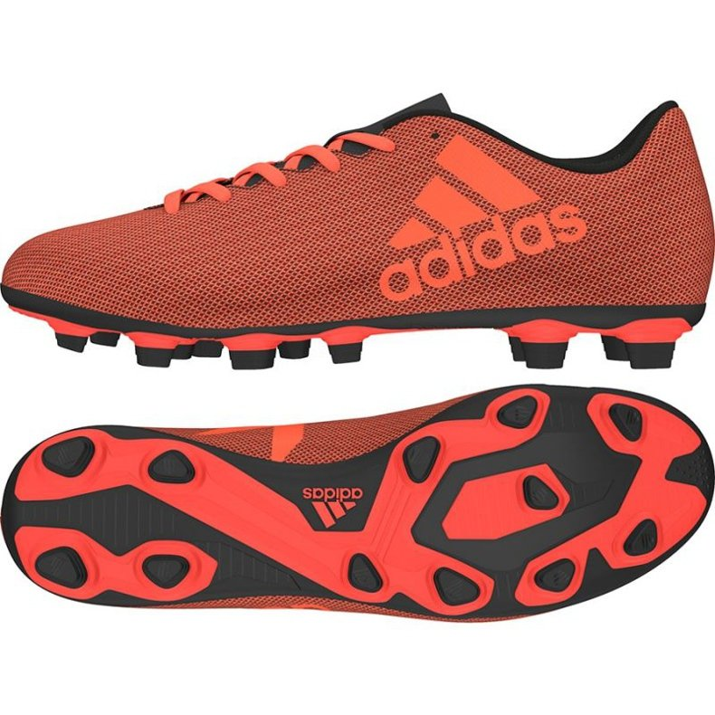 Buty piłkarskie adidas X 17.4 FxG M czerwone