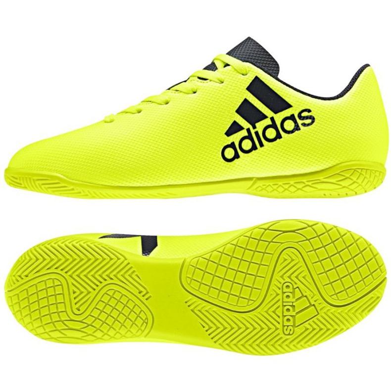 Buty halowe adidas X 17.4 In Jr S82410