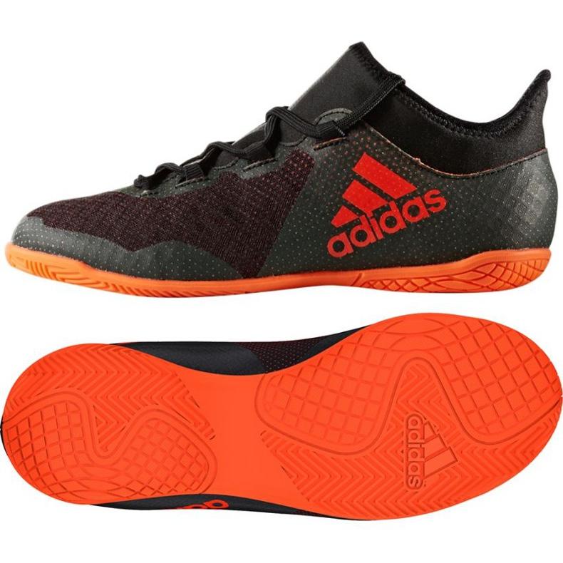 Buty piłkarskie adidas X Tango 17.3 In Jr CG3724 wielokolorowe czarne