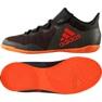 Buty piłkarskie adidas X Tango 17.3 In Jr CG3724 czarny, pomarańczowy czarne