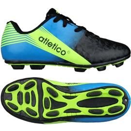 Buty piłkarskie Atletico Fg Junior S76520 wielokolorowe wielokolorowe