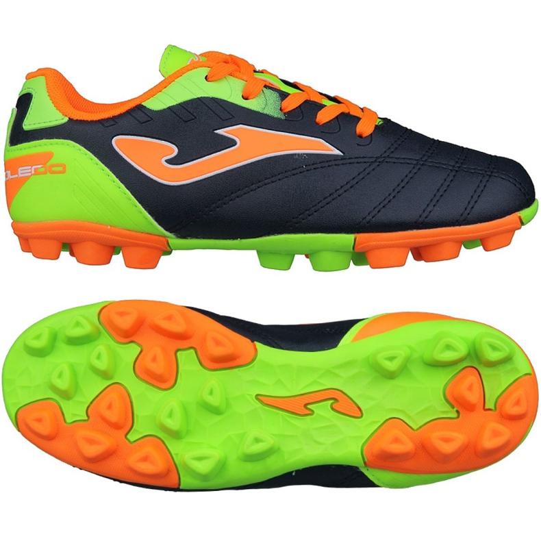 Buty piłkarskie Joma Toledo Fg Jr TOLJS.703.22 czarne czarne
