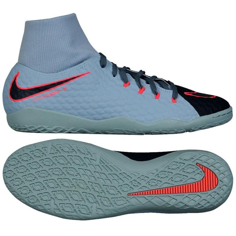 Buty halowe Nike HypervenomX Phelon szare