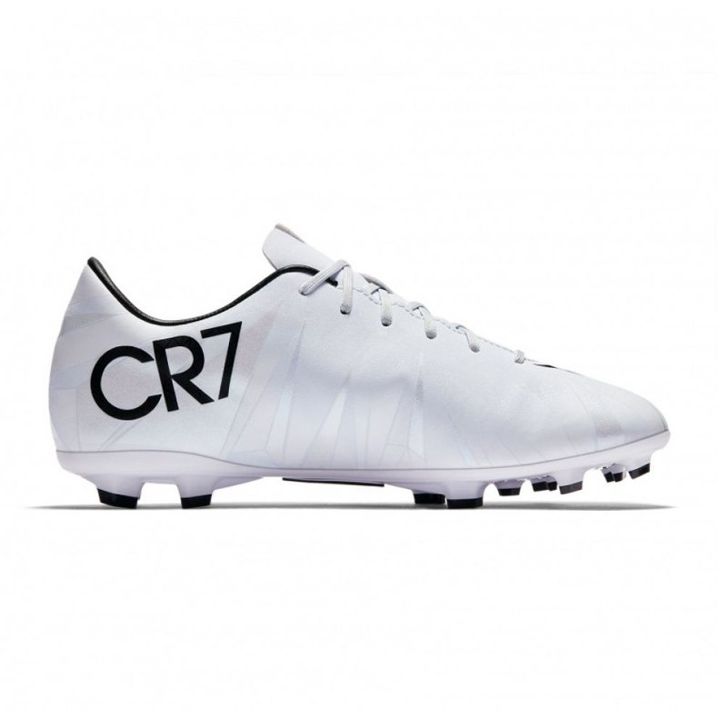 Buty piłkarskie Nike Mercurial Victory Vi CR7 Fg Jr 852489-401 białe