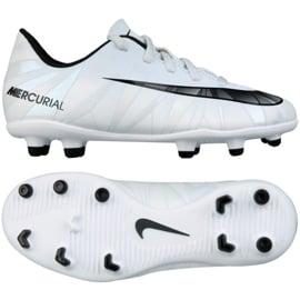 Buty piłkarskie Nike Mercurial Vortex Iii CR7 Fg Jr 852494-401 białe