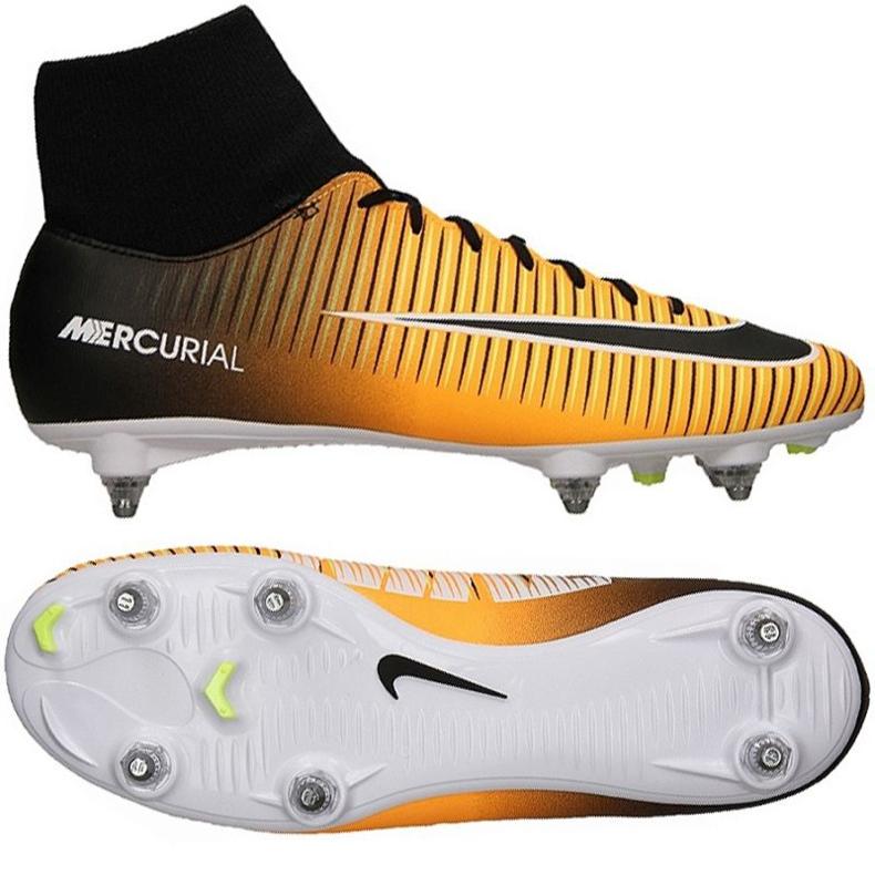 Buty piłkarskie Nike Mercurial Victory VI DF SG M 903610-801 pomarańczowe