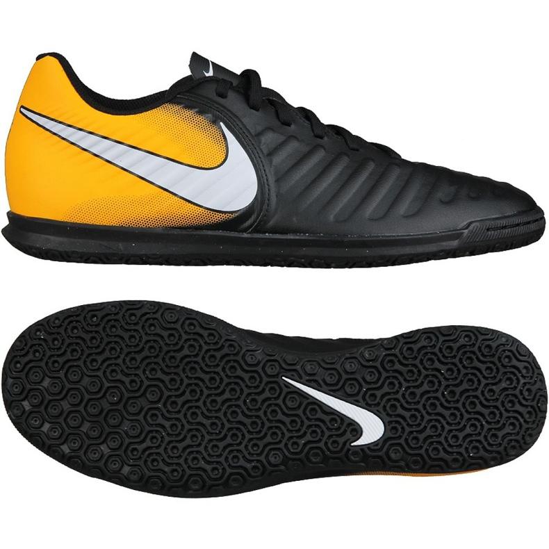 Buty halowe Nike TiempoX Rio Iv Ic M 897769-008 wielokolorowe czarne