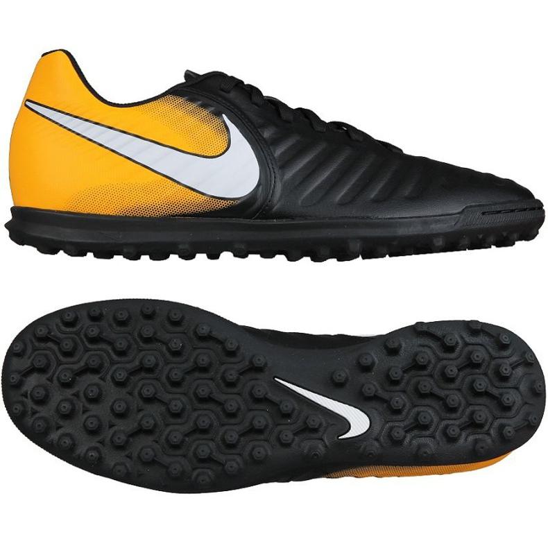Buty piłkarskie Nike TiempoX Rio Iv Tf M 897770-008 wielokolorowe czarne