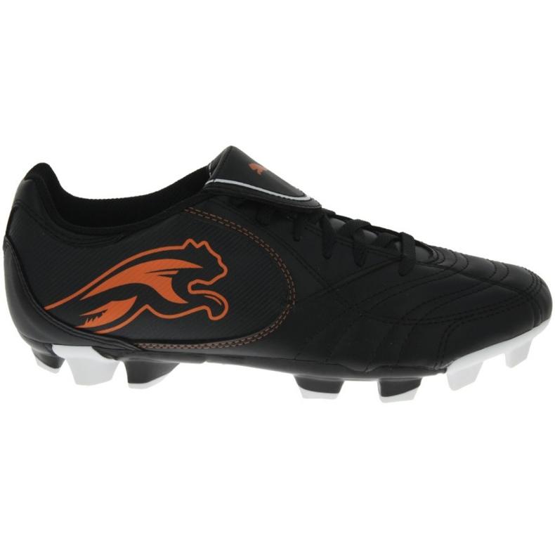 Buty piłkarskie Puma Boca Fg Jr 102532 03 czarne czarne