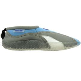 Buty plażowe neoprenowe Aqua-Speed Jr szare