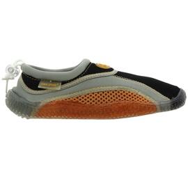 Buty plażowe neoprenowe Aqua-Speed Jr brązowe