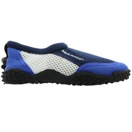 Buty plażowe neoprenowe Aqua-Speed Jr granatowe wielokolorowe wielokolorowe