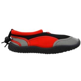 Buty plażowe neoprenowe Aqua-Speed Jr czerwone