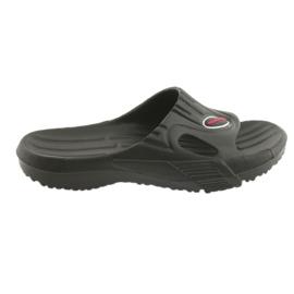 Klapki basenowe Aqua-Speed Arizona U czarne