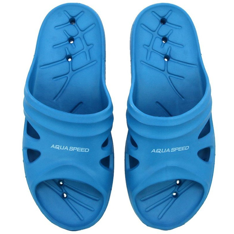 Klapki Aqua-Speed Florida U niebieskie