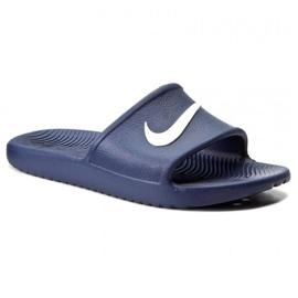 Granatowe Klapki Nike Sportswear Kawa Shower M 832528-400