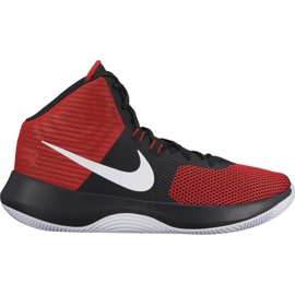 Buty koszykarskie Nike Air Precision M czerwone