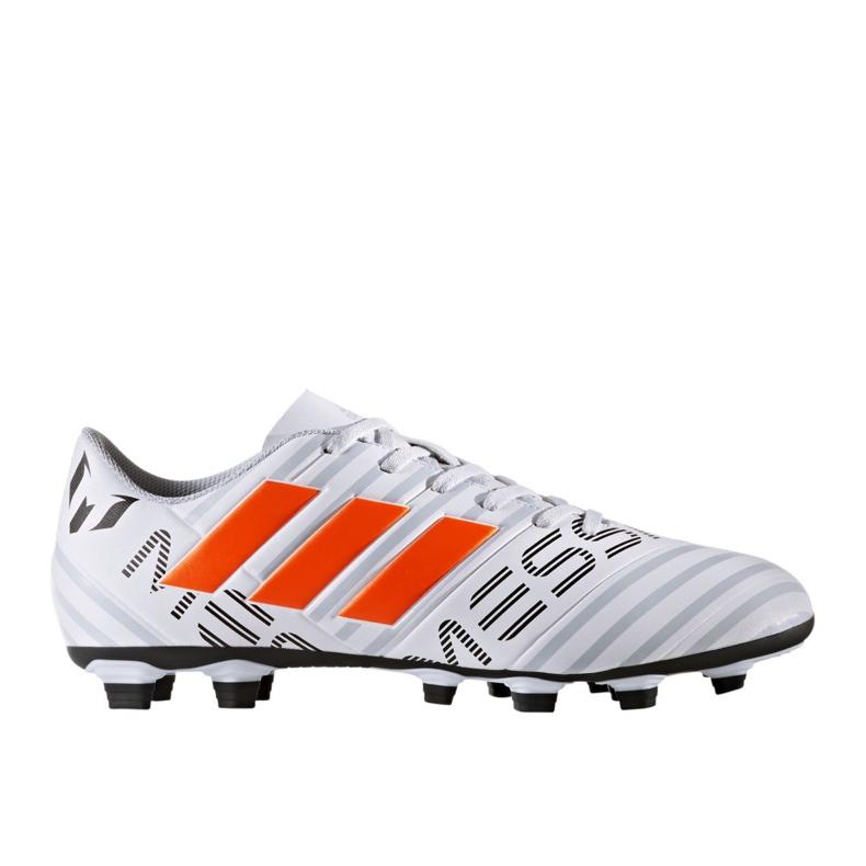 Buty piłkarskie adidas Nemeziz Messi 17.4 FxG M S77199 wielokolorowe białe