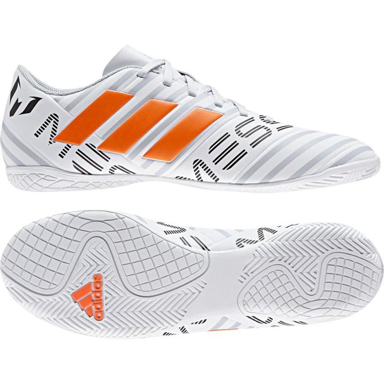 Buty halowe adidas Nemeziz Messi 17.4 białe