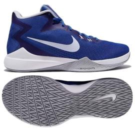Buty koszykarskie Nike Air Precision M niebieskie
