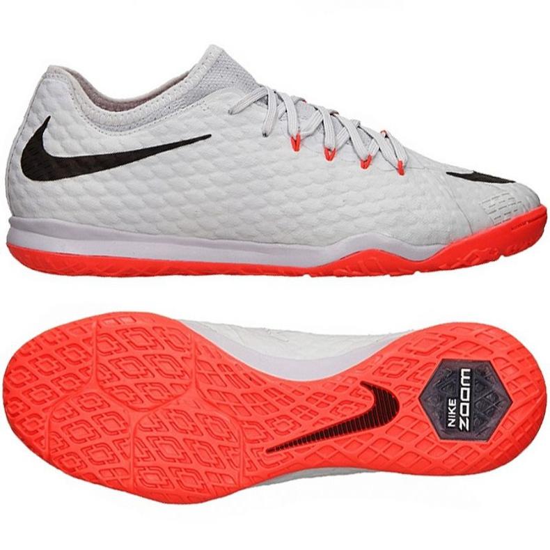 Buty halowe Nike Hypervenomx Finale Ii szare