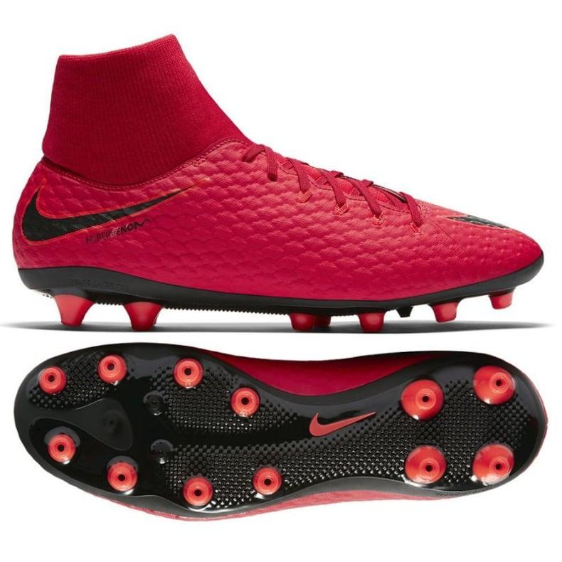 Buty piłkarskie Nike Hypervenom Phelon czerwone