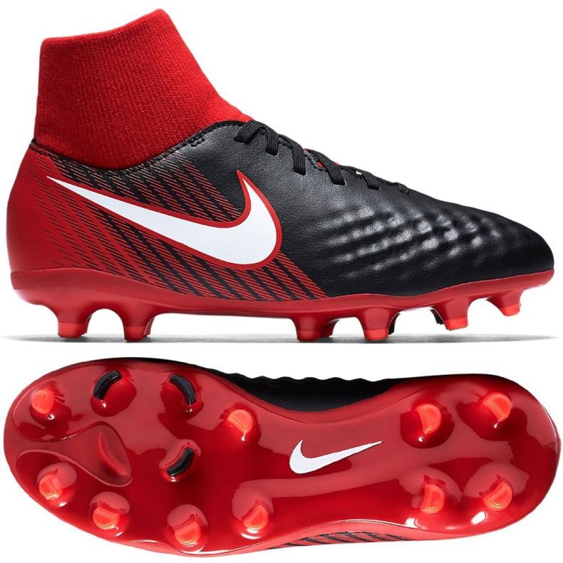 Buty Nike Magista Onda Ii Df Fg Jr 917776-061 czarne wielokolorowe