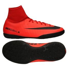 Buty halowe Nike MercurialX Victory 6 Df Ic Jr 903599-616 czerwone czerwone