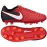 Buty piłkarskie Nike Jr Tiempo Ligera Iv czerwone