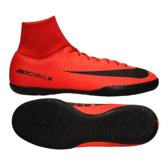 Buty halowe Nike MercurialX Victory 6 Df Ic M 903613-616 czerwone czerwony