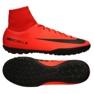 Buty piłkarskie Nike MercurialX Victory Vi Df Tf M 903614-616 czerwone czerwone