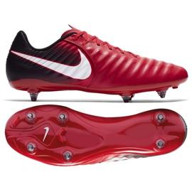 Buty piłkarskie Nike Tiempo Ligera Iv Sg M 897745-616 czerwone czerwone