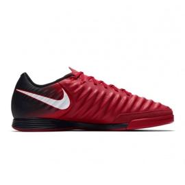 Buty halowe Nike TiempoX Ligera Iv Ic M czerwone