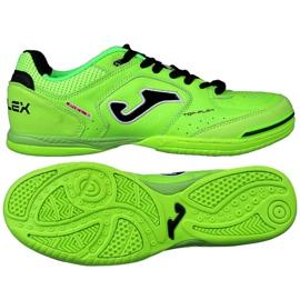 Buty halowe Joma Top Flex 811 In M zielony, czarny zielone