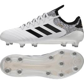 Buty piłkarskie adidas Copa 18.1 Fg M BB6356 białe wielokolorowe