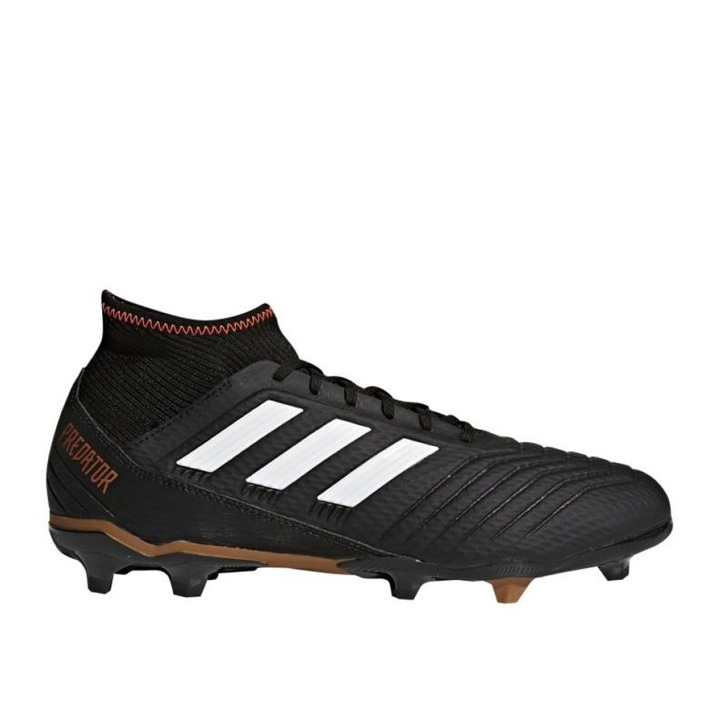 Buty piłkarskie adidas Predator 18.3 Fg M CP9301 czarne czarne