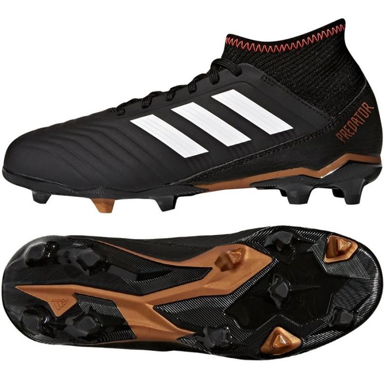 Buty piłkarskie adidas Predator 18.3 FG Jr CP9010 czarne
