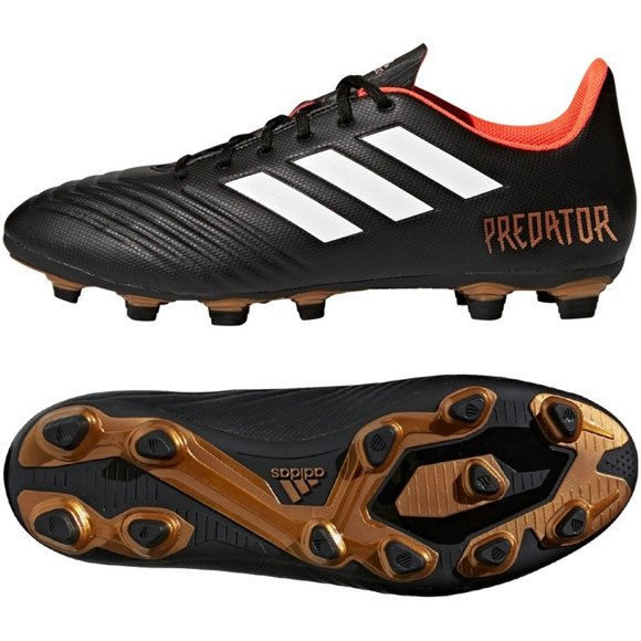 Buty piłkarskie adidas Predator 18.4 FxG M CP9265 czarny czarne