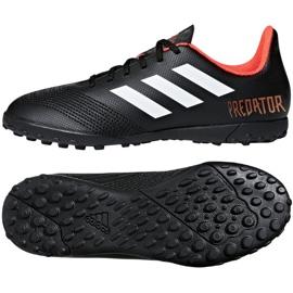 Buty piłkarskie adidas Predator Tango 18.4 Tf Jr CP9095 czarne czarne